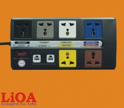 Ổ Cắm Đa Năng LiOA 6 OFFICE-3