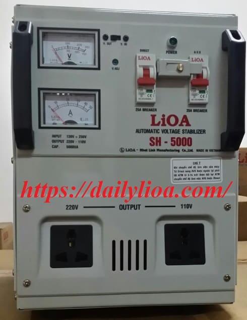 Ổn Áp LiOA 1 Pha SH-5000 (5KVA)