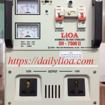 Ổn Áp LiOA 1 Pha SH-7500