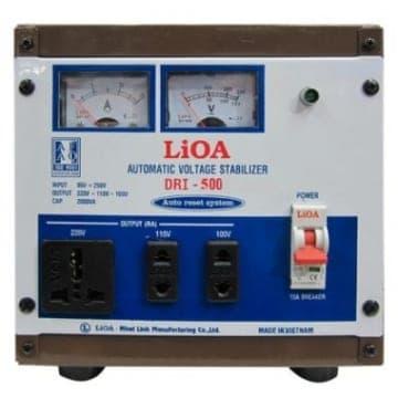 Ổn Áp LiOA 1 Pha DRI-500 (0.5KVA)
