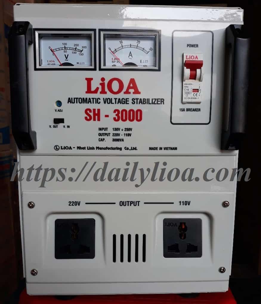 Ổn Áp LiOA 1 Pha SH-3000 (3KVA)