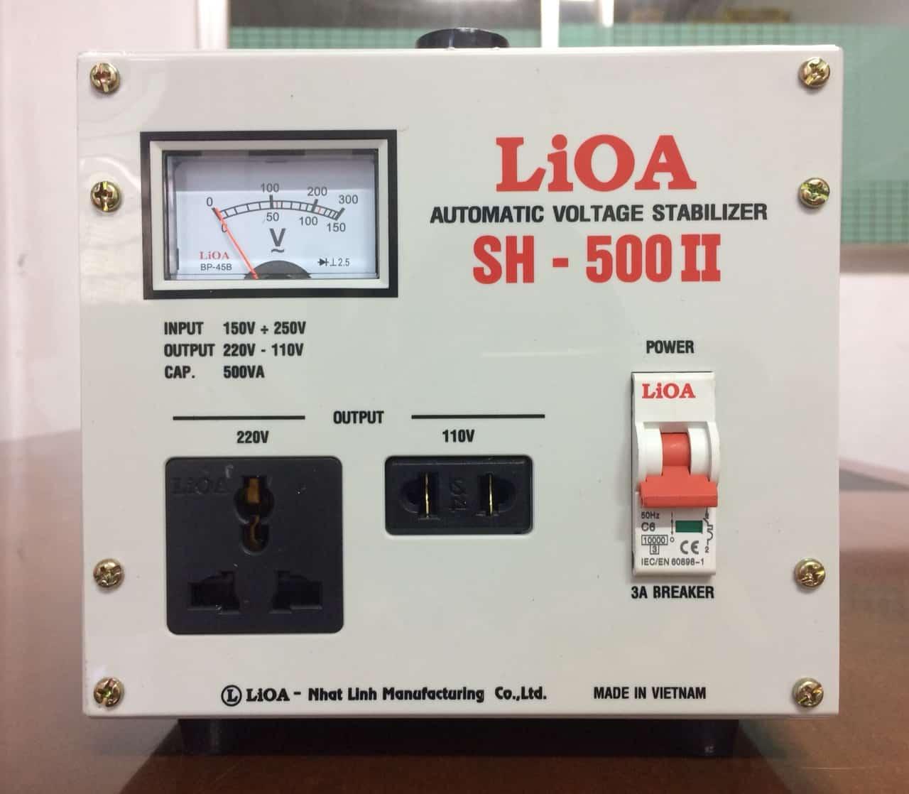 Ổn Áp LiOA 1 Pha SH-500
