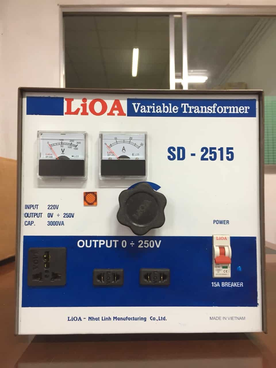 Biến Áp Vô Cấp LiOA SD-2515