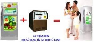 Ổn Áp Cho Tủ Lạnh – Thiết Bị Bảo Vệ Tủ Lạnh LiOA